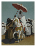 The Sultan, 19th Century Giclee Print by Jean-Baptiste Eggericx
