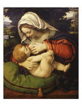 The Virgin and Green Cushion, 1507-10 Giclee Print by Andrea Solario