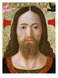 Face of Christ, Christ Blessing the World (Inv 19), Detail Gicle-tryk af Melozzo da Forl