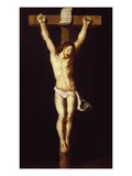 Christ on the Cross, Jansenist Style, after Van Dyck, 17th Century, Gallery of the Golden Age Giclee Print by  Flemish School
