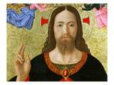Christ Blessing the World (Inv 19), Detail Giclee Print by Melozzo da Forl&#237; 