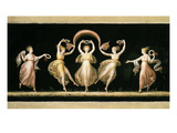 Dancers, Tempera Giclee Print by Antonio Canova