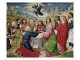 Assumption of Virgin Mary into Heaven, from Life of Mary, 1485 Giclee Print by Master of Aachen