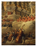 Orchestra, from Concert Funded by Cardinal De La Rochefoucauld in the Argentina Theatre Giclee Print by Giovanni Paolo Pannini