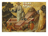 The Resurrection, Predella Fragment Giclee Print by Bartolomeo di Tommaso Foligno