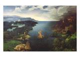 Crossing the River Styx Premium Giclee Print by Joachim Patenir