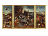 Temptation of Saint Anthony, Triptych 1505-6 Giclee Print by Hieronymus Bosch