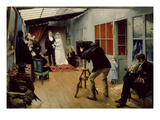 Noce Chez Le Photographe (Wedding at the Photographer's) Giclee Print by Pascal Adolphe Jean Dagnan-Bouveret