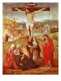 Korsfæstelse Giclée-tryk af Giovanni Antonio Bazzi Sodoma