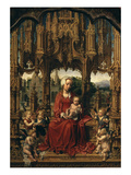 Madonna and Child, Central Panel of Malvagna Triptych Giclee Print by Jan Gossaert Mabuse