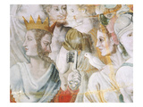 Janus Holding the Keys to Rome Reproduction procédé giclée par Fontainebleau School