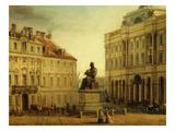 Copernic Square, Warsaw, Poland, 19th Century Giclee Print by Wladyslaw Bakalowicz