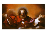 God the Eternal Father (Inv 130) Lámina giclée por Guercino (Giovanni Francesco Barbieri)