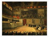 Concert in the Palazzo Vecchio, Florence, Italy Giclee Print by Ferdinand Folchi