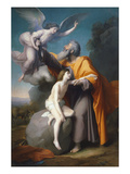 The Sacrifice of Isaac, 1858 Giclee Print by Santiago Rebull