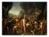 Léonidas Aux Thermopyles (Leonidas, King of Sparta, at Thermopylae) Giclee Print by Jacques-Louis David