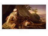 Un Beduino (A Bedouin) Giclee Print by Eugenio Moretti Larese