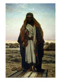 Prayer in the Desert 1876 Giclee Print by Stefano Ussi