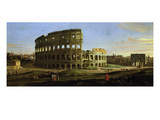 The Colosseum and the Roman Forum (Inv 884) Giclee Print by Gaspar van Wittel