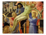 The Deposition of Christ, 1435, from Holy Trinity Altarpiece (Central Detail) Giclee Print by Fra Angelico