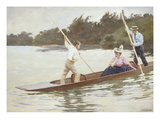 The Crossing by Punt, 1897 Giclee Print by Ferdinand Joseph Gueldry