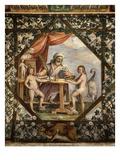 Perseverance, C. 1598 Ceiling Fresco Giclee Print by Federico Zuccari Or Zuccaro
