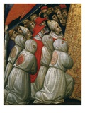 Kneeling Flagellants, from the Virgin of the Misericordia (Detail) Giclee Print by Pietro di Domenico di Montepulciano
