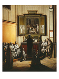 Church Interior, Mass, 1623 Giclee Print by Henri van Steinwick