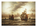 Threat of a Storm, Undated Giclee Print by Auguste Musin