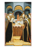 The Circumcision, Verdu Retable, 1430-61, Llieda School Giclee Print by Jaime Ferrer