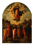 The Assumption Giclee Print by Jacopo Palma