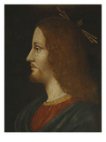 Christ, Tempera on Panel, 15th Century, Profile Giclee Print by  Lombard School