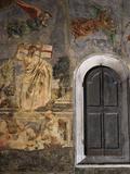 The Resurrection, Fresco C.1444-50 Fotografisk tryk af Andrea Del Castagno