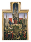 The Fountain of Grace, 15th Century Giclee Print by  Flemish School