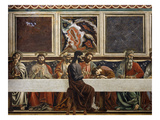 The Last Supper, Fresco C.1444-50 (Central Detail) Giclee Print by Andrea Del Castagno