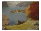 Borromeo Islands, Lake Maggiore, April 1902 Giclee Print by Firmin Baes