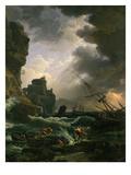 La Tempête (Tempest), 1777 Giclée-Druck von Claude Joseph Vernet