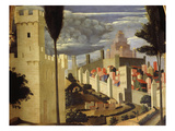 Jerusalem, from Deposition of Christ, 1435, from Holy Trinity Altarpiece (Detail) Giclee Print by  Fra Angelico
