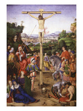 Crucifixion, Oil on Wood, 1503 Giclee Print by Andrea Solario