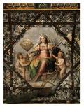 Wisdom, C. 1598 Ceiling Fresco Giclee Print by Federico Zuccari Or Zuccaro