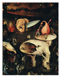 Hell, Right-Hand Panel of the Garden of Earthly Delights, C. 1503-04 Triptych (Detail) Giclee Print by Hieronymus Bosch