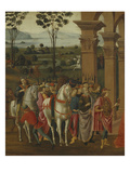 Procession, the Adoration of the Magi, the Nativity and the Annunciation to the Shepherds Giclee Print by  Florentine School