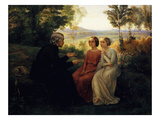 The Grain of Wheat Giclee Print by Louis Janmot