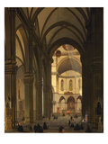 Interior, Duomo, Florence, Italy Giclee Print by Giovanni Pezzini