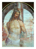 Christ at the Column, C.1514 Giclée-tryk af Giovanni Antonio Bazzi Sodoma