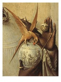 Bird Perching on Jewelled Globe, from Adoration of the Magi, Tripytch, C.1495 Giclee Print by Hieronymus Bosch