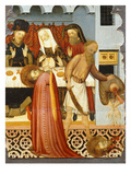 Decapitation of John the Baptist, Salomé Bringing His Head to the Banquet of Herod Giclee Print by Bernardo Martorell