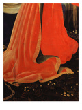 Folds of Mary Magdalene's Red Dress on Flowered Meadow, from Deposition of Christ, 1435 Giclee Print by Fra Angelico
