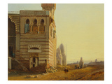Tomb of the Caliphs, Cairo Giclee Print by Francois Antoine Bossuet