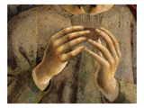 Hands of Saint James Holding Glass of Wine, from the Last Supper, Fresco C.1444-50 (Detail) Giclee Print by Andrea Del Castagno